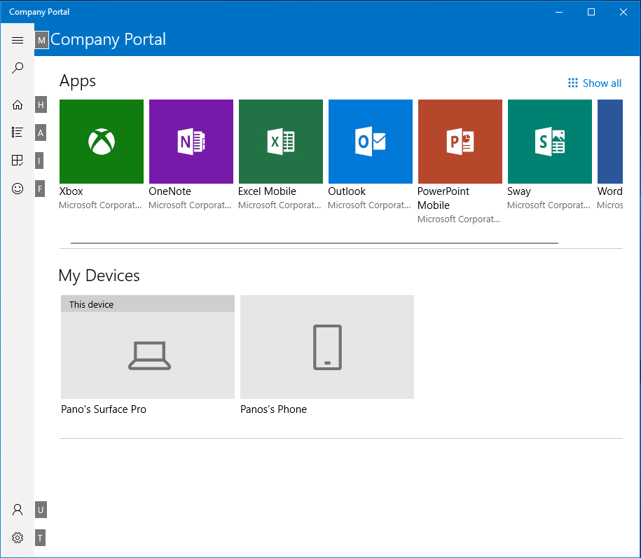 Microsoft Endpoint Manager (MEM) portal