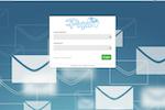 Instiller screenshot: Custom background and colours on login screen