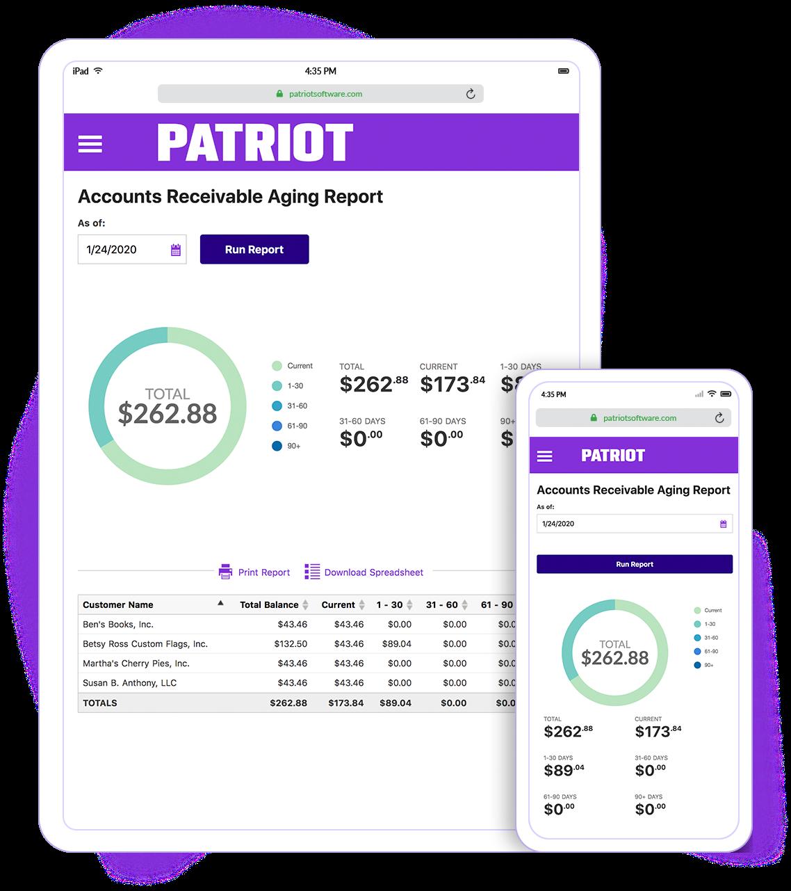 Patriot Accounting Logiciel - 3