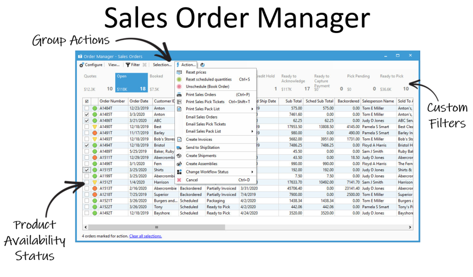 Acctivate Order Manager
