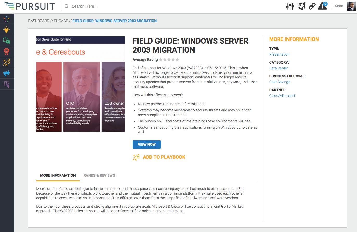 Allbound Software - Field guide