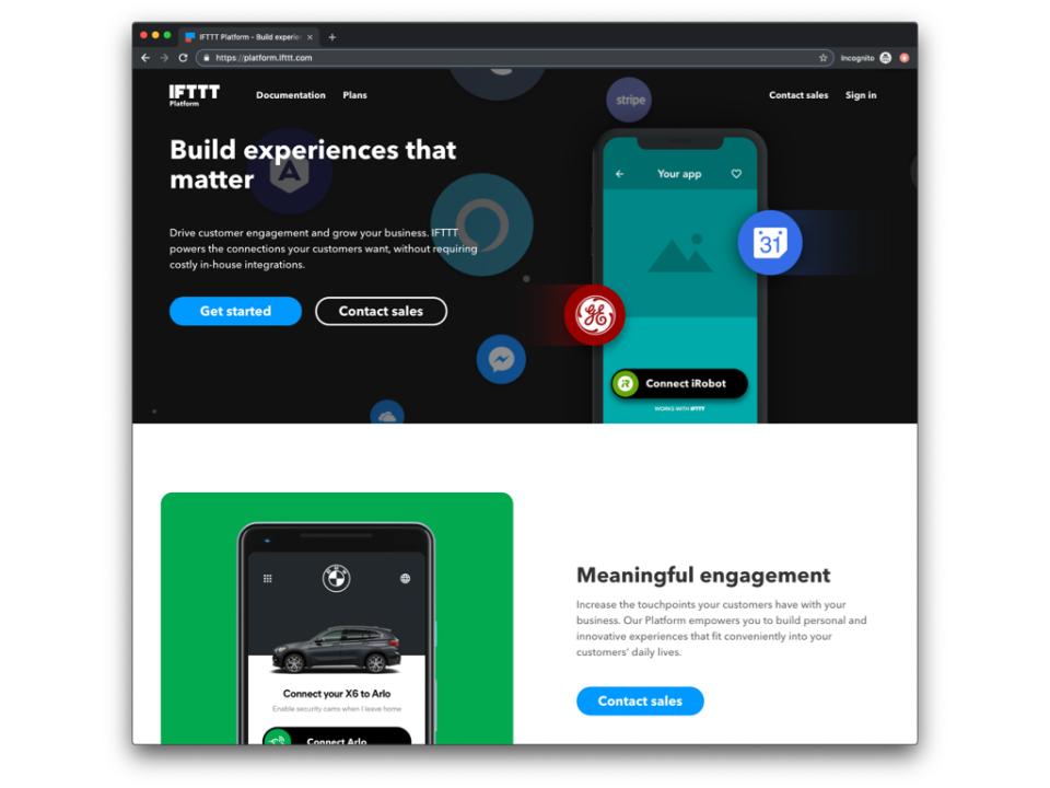 IFTTT Software - 1