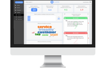 Revetize screenshot: A central dashboard gives users an overview on customer feedback