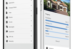 Co-construct screenshot: Mobile Devices Android & Apple, Client Login and Builder Login