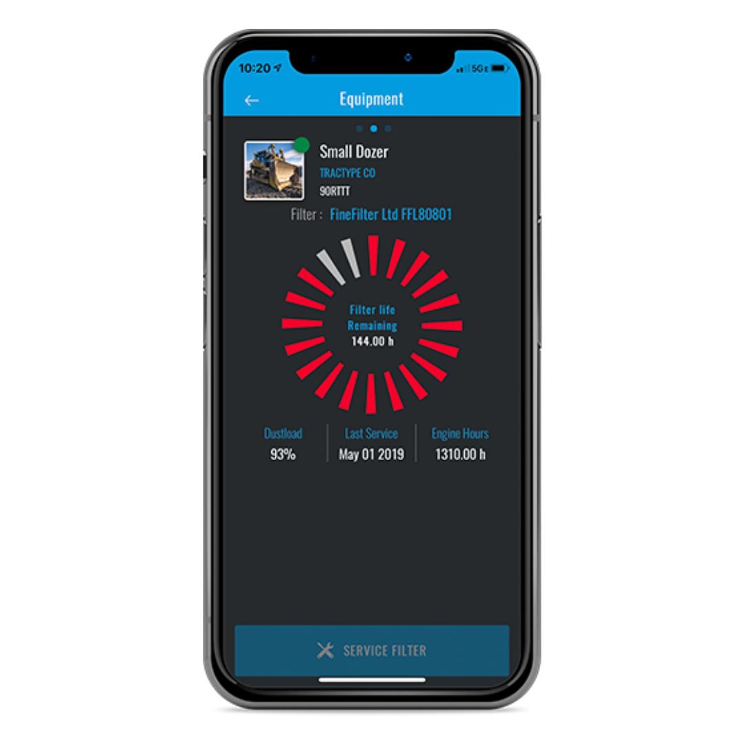 Senzit's mobile application.