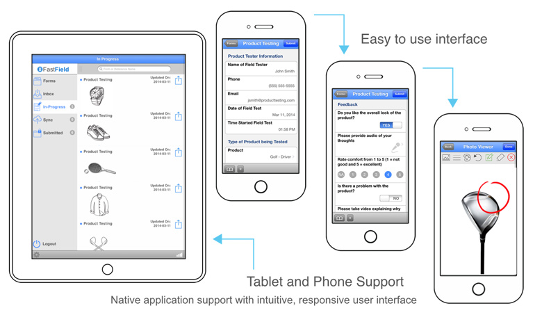 iOS forms