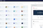 Kasm screenshot: Application Launcher