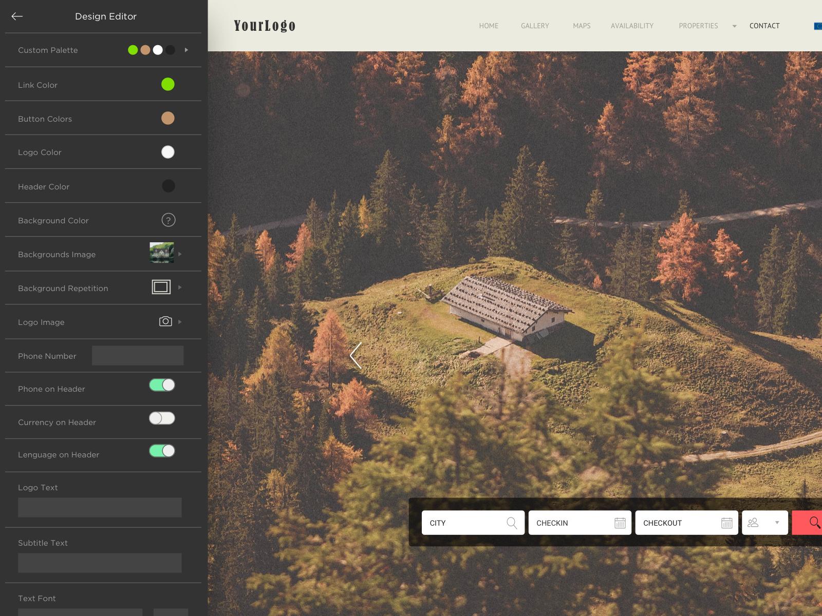 Lodgify Software - Dashboard