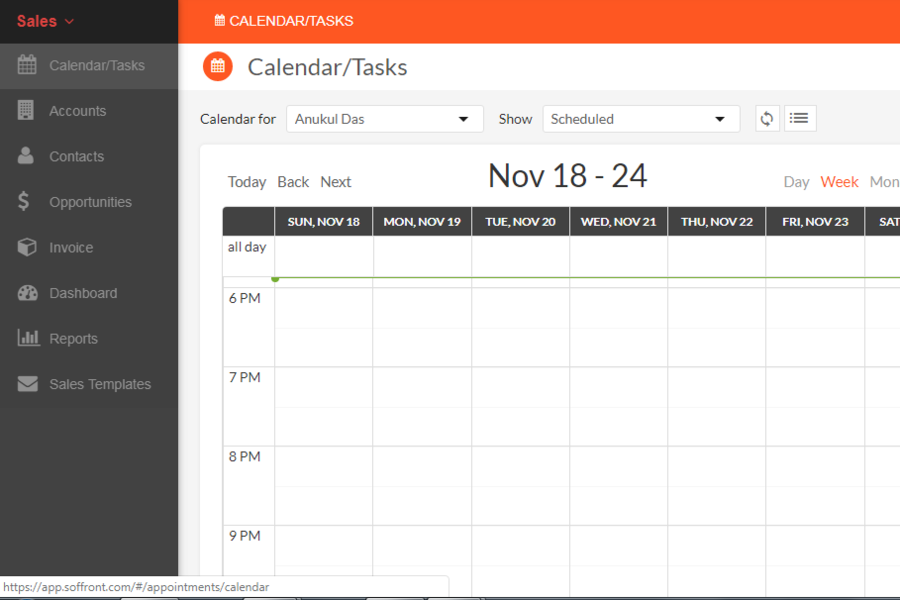 BrandWide Calendar