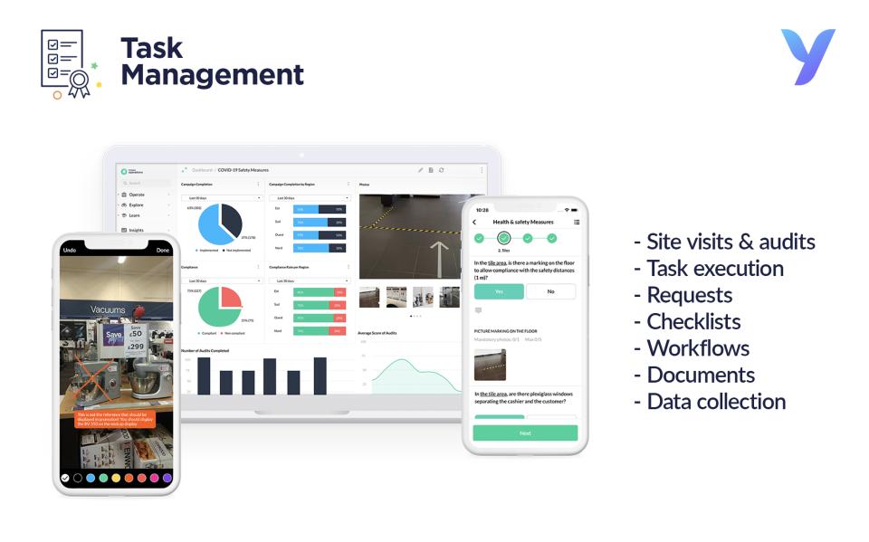 YOOBIC Software - YOOBIC Task Management