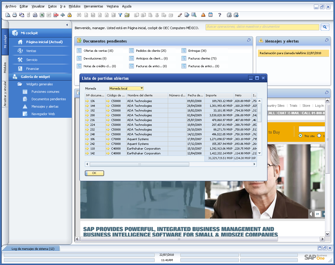 SAP Business One Logiciel - 4