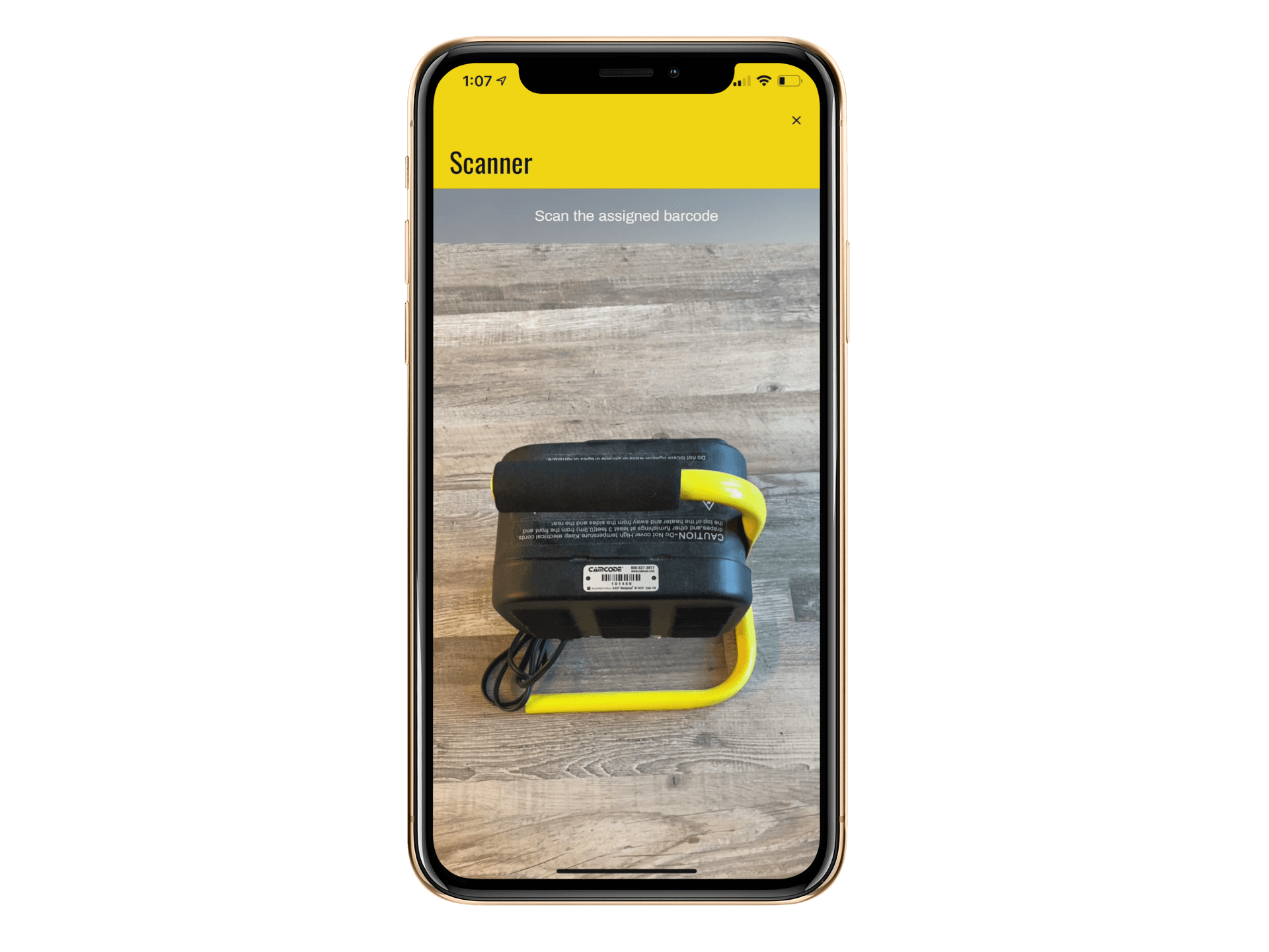 Use phone cameras to scan barcodes with no extra hardware!