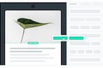 Autopilot screenshot: Drag and drop email builder