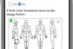 Capture d'écran pour TrialKit : Patient reported outcomes