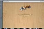 Capture d'écran pour Tally-I/O : Home Screen Company Portal (Your logo goes here)