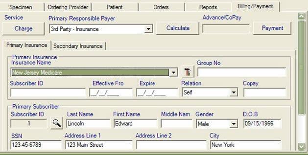 Prolis Software - Billing