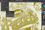 Captura de pantalla de Affinity Designer: Affinity Designer pen tool