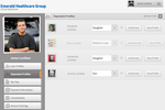 Capture d'écran pour Virtual Care Management : Virtual Care Management patient profiles