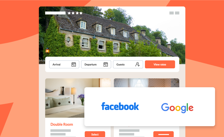 Get bookings from holiday-makers online by connecting to our booking engine