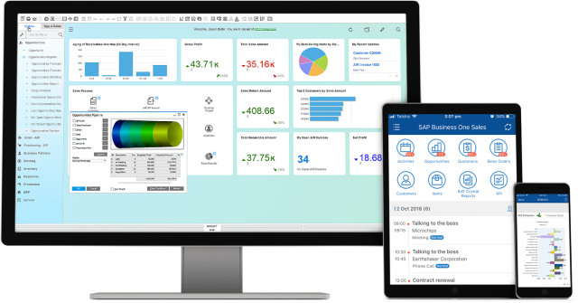 SAP ERP Software - SAP Cloud ERP Suite: SAP BusinessOne