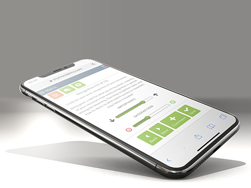 Provide ratings or comments on any smartphone or tablet