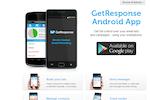 Captura de tela do GetResponse: GetResponse Android App