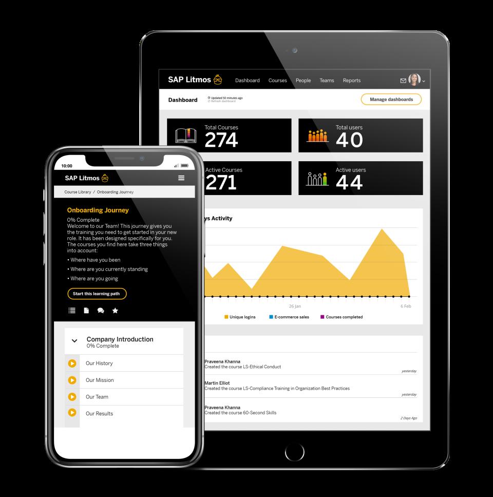 SAP Litmos Software - Mobile Devices