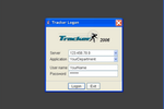 Tracker screenshot: Tracker login