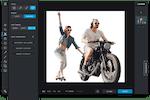 Pixlr Screenshot: Pixlr X cut-out functionality