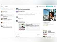 #paid Software - Chat and collaborate with creators about campaigns.