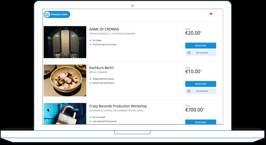bookingkit Software - 2
