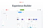 OutSystems screenshot: Experience Builder: Move faster from idea to live production app.