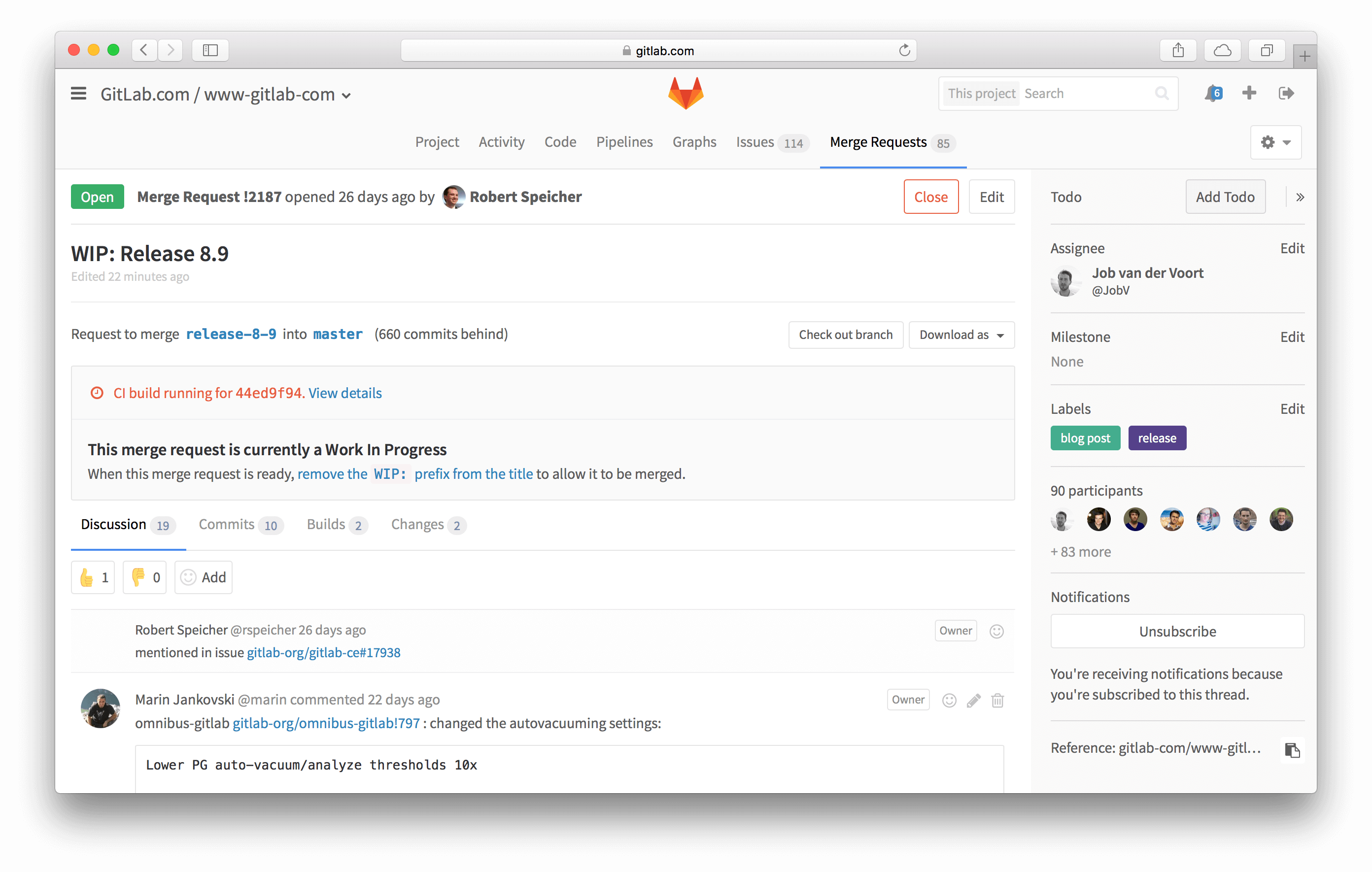 GitLab Software - Code review