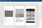 draw.io screenshot: Create mockups of application interfaces and mobile websites to optimize their usability