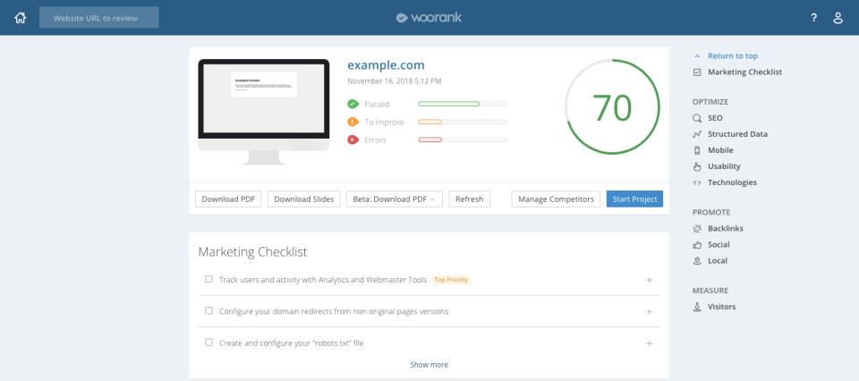 WooRank Software - 1