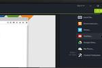 Capture d'écran pour Camtasia : Camtasia save or share