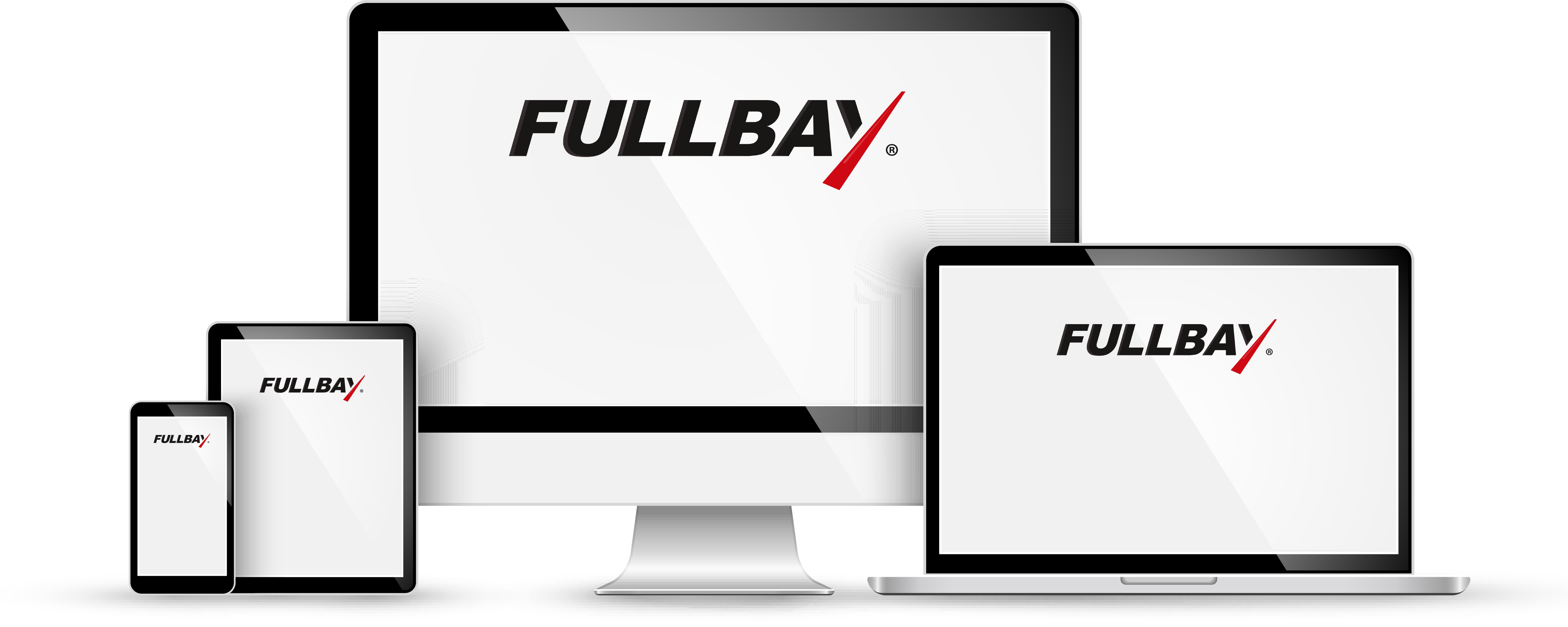 Fullbay screenshot: Hosted and deployed within the cloud, Fullbay is accessible on any internet-enabled device including mobile, tablet, desktop or laptop