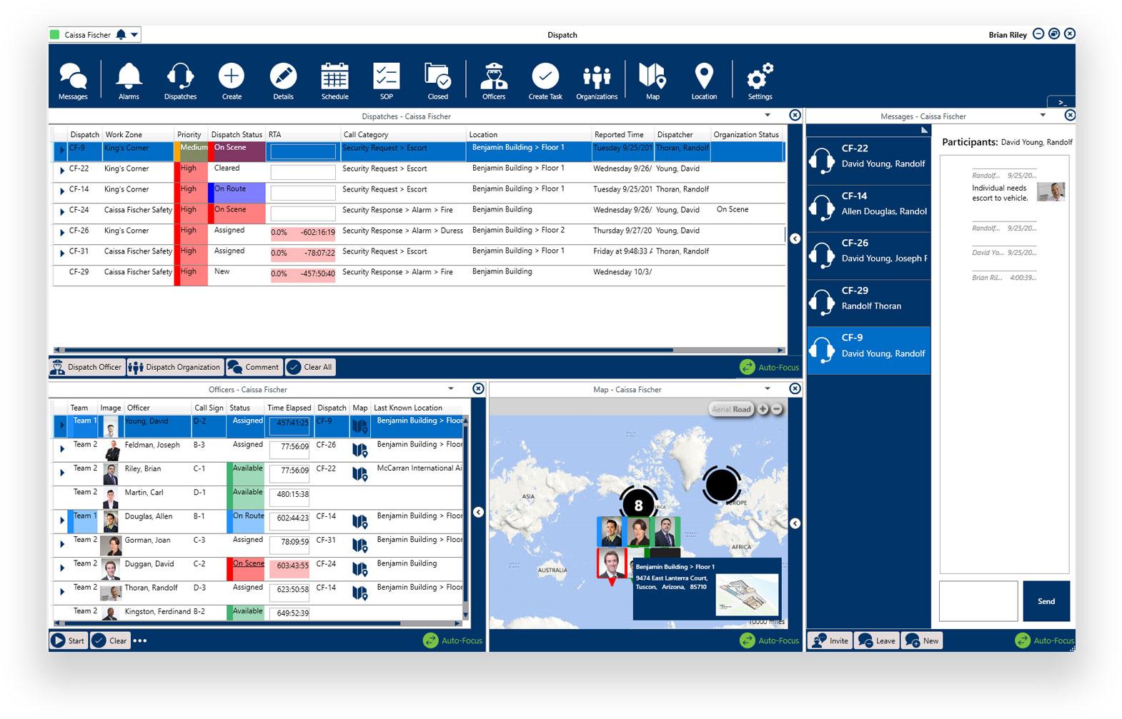 Resolver Software - Command Center