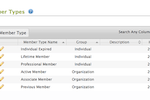 AMO screenshot: Create and offer multiple types of membership