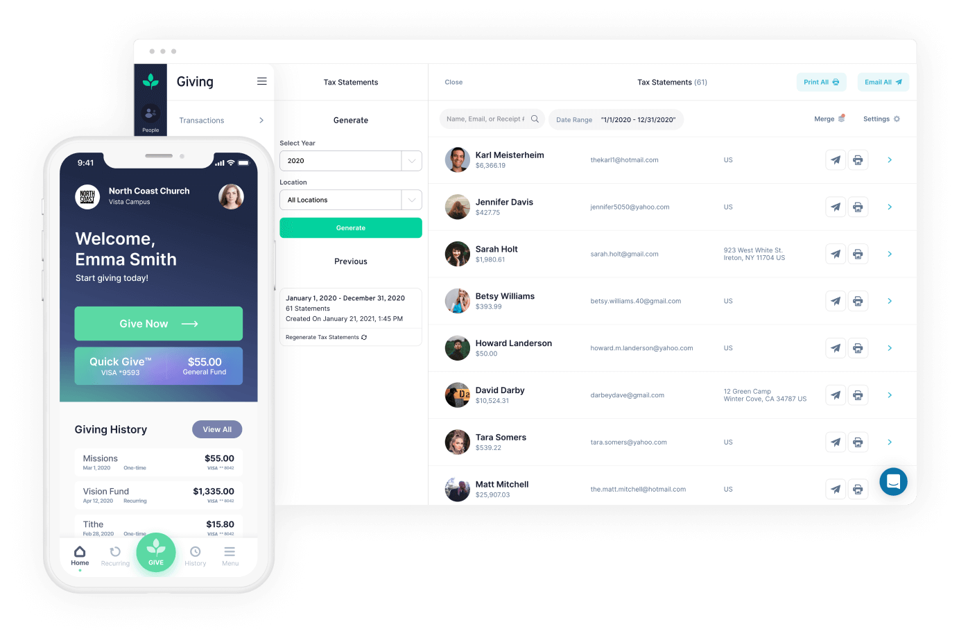 Tithe.ly Software - Tithe.ly