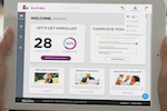 EBenefits screenshot: Allow employees to access the self service portal to manage enrollments, benefits, and more