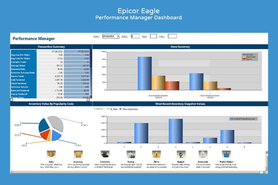 Epicor Retail Solutions Logiciel - 1