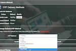 PortalGuard screenshot: PortalGuard Default OTP Options