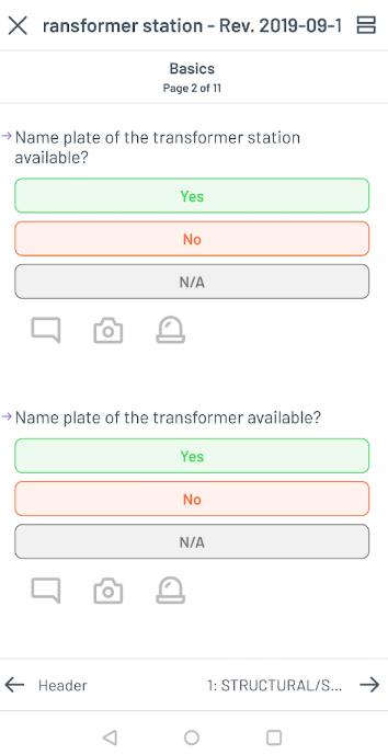 Lumiform questions