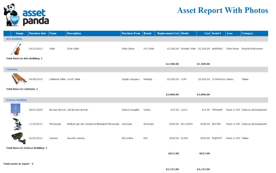 Asset Panda Software - 5