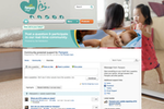 Get Satisfaction screenshot: Pampers' Get Satisfaction Community
