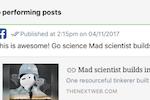 ContentCal screenshot: ContentCal: Post Performance