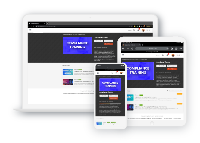 The Rockstar Learning Platform is easy to use.