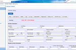 HealthAxis screenshot: HealthAxis dashboard