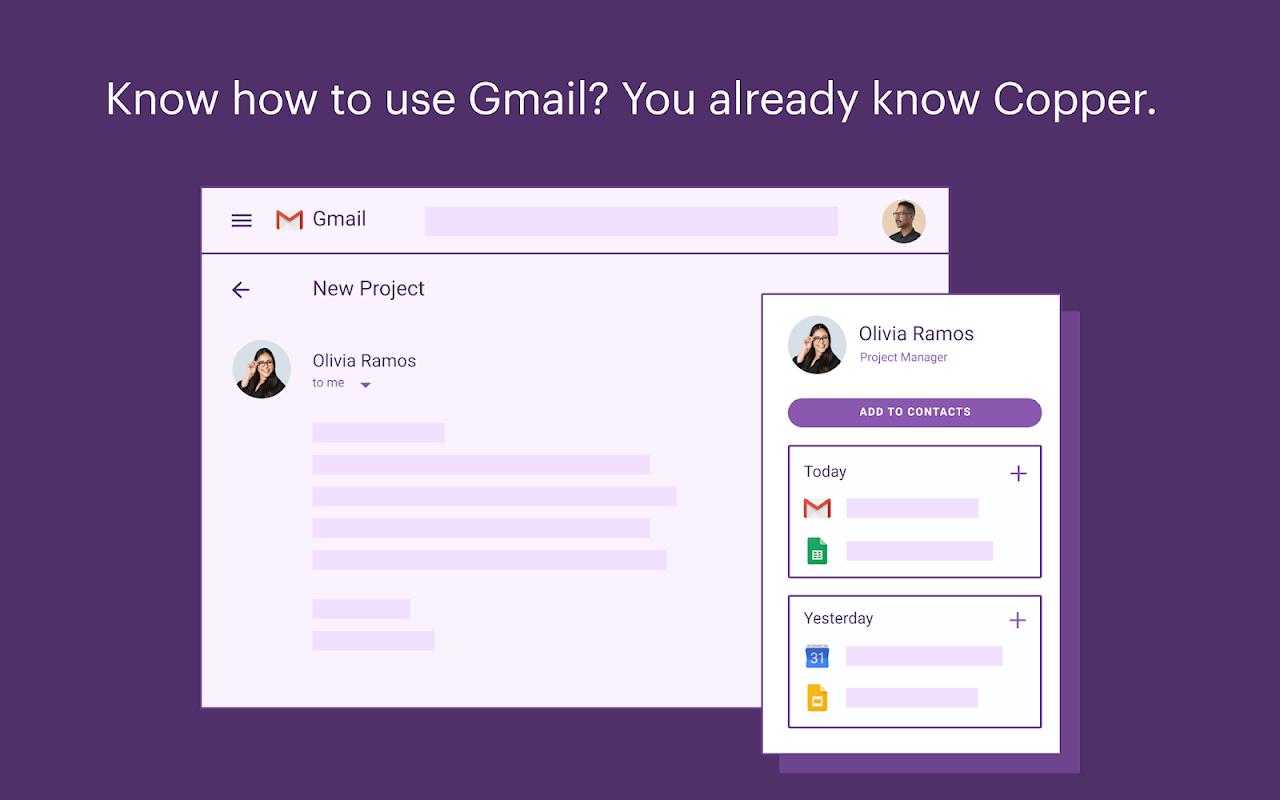 Copper Software - Copper for Gmail 1